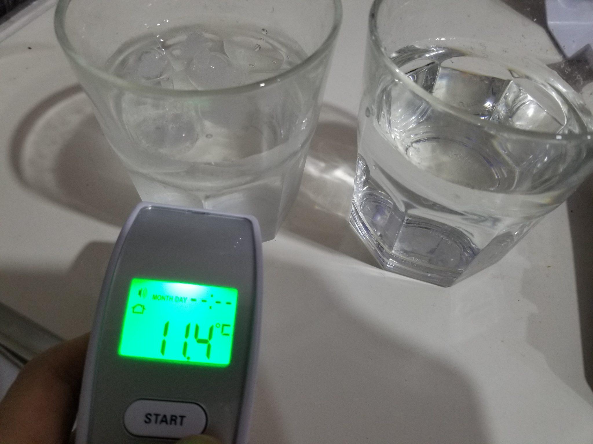Nhiệt độ nước đá