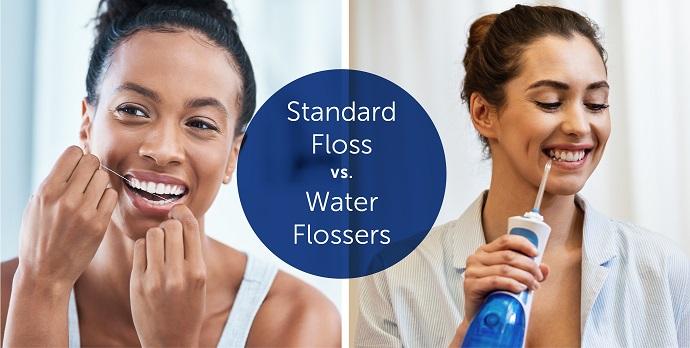 tăm nước vs chỉ nha khoa